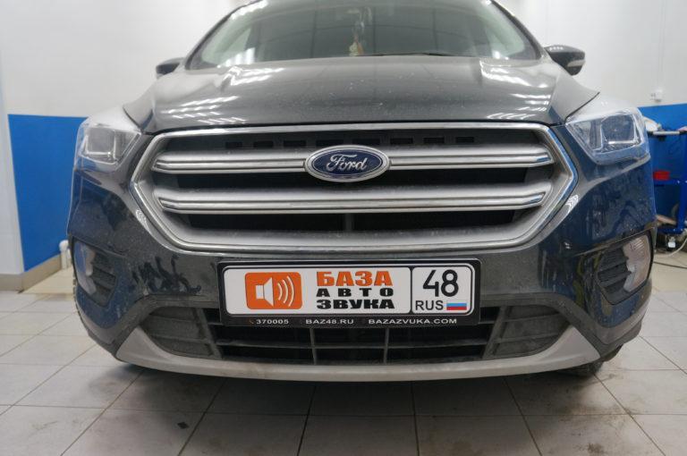 Ford Kuga 2017 защитная сетка радиатора