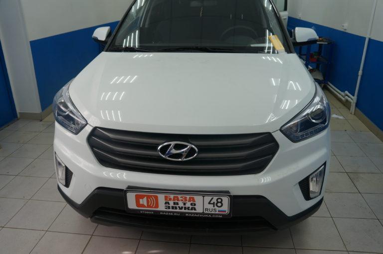 Hyundai Creta 2018 сигнализация StarLine A63 + замок капота