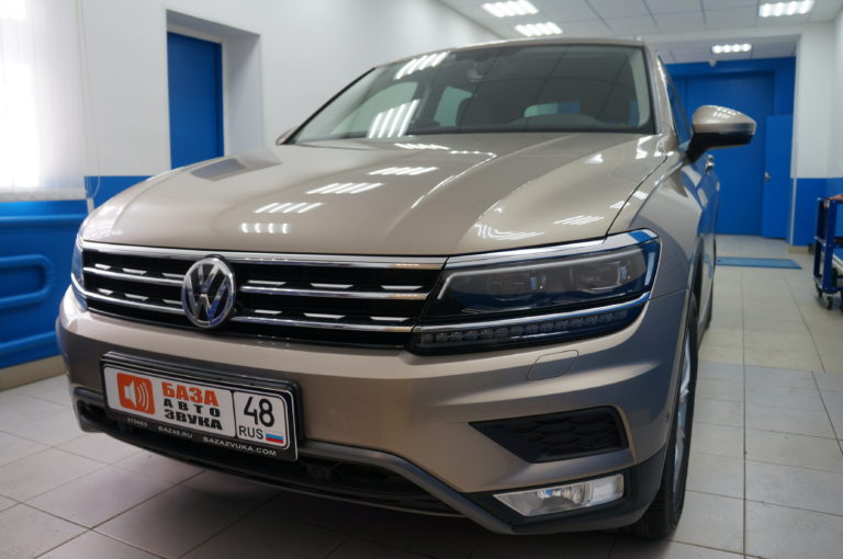 VW Tiguan 2018 Шумоизоляция салона