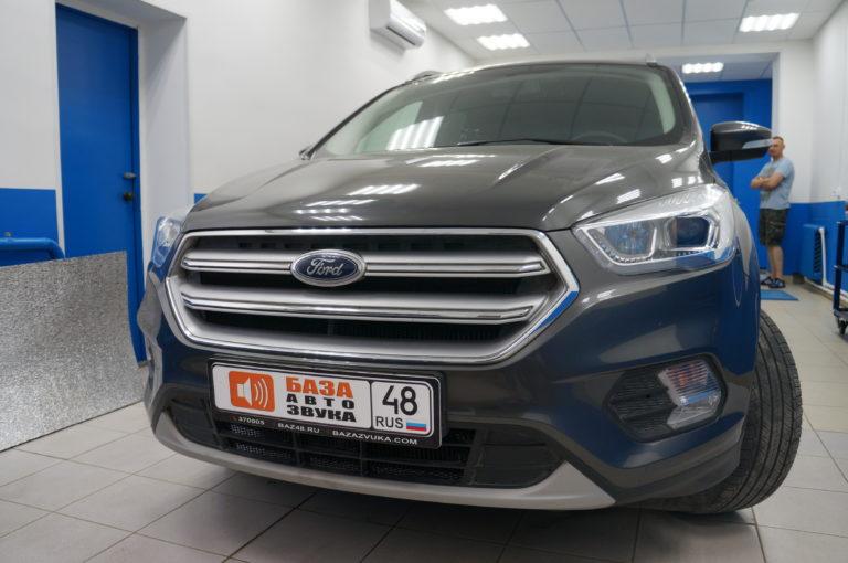 Ford Kuga 2018 защитная сетка радиатора