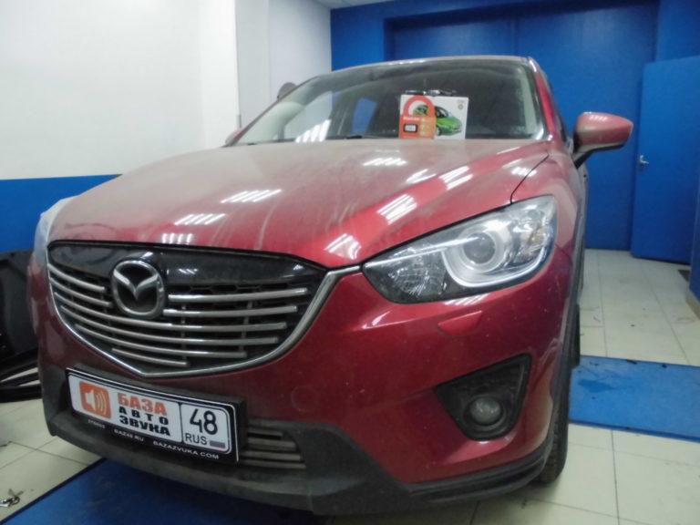 Mazda CX5 2014 сигнализация StarLine E96 BT
