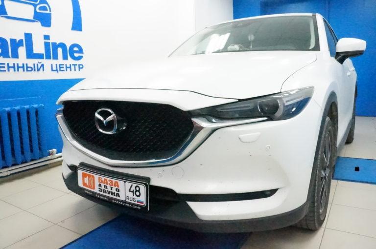 Mazda CX5 2017 <br>  установка фаркопа