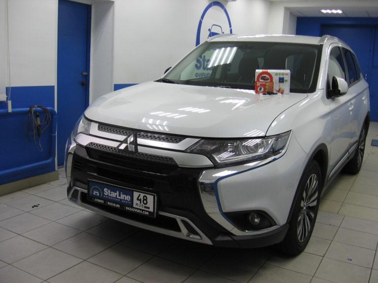 Mitsubishi Outlander 2019  сигнализация StarLine S96