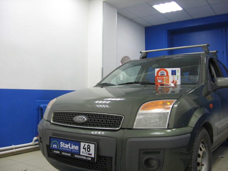 Ford Fusion 2007 установка StarLine A93 eco