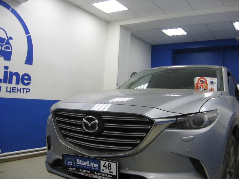 Mazda CX-9 2019 установка StarLine S96