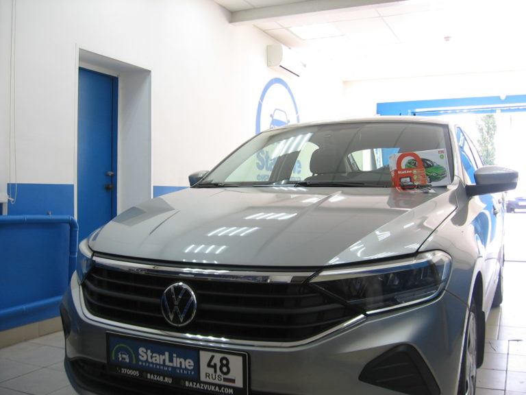 Volkswagen Polo 2020 установка StarLine E96 BT