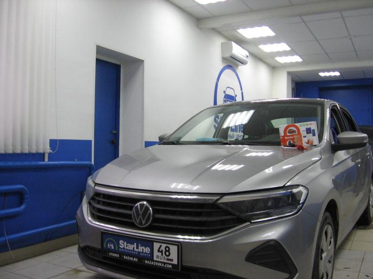 Volkswagen Polo 2020 установка StarLine S96 v2 2CAN+4LIN 2SIM GSM