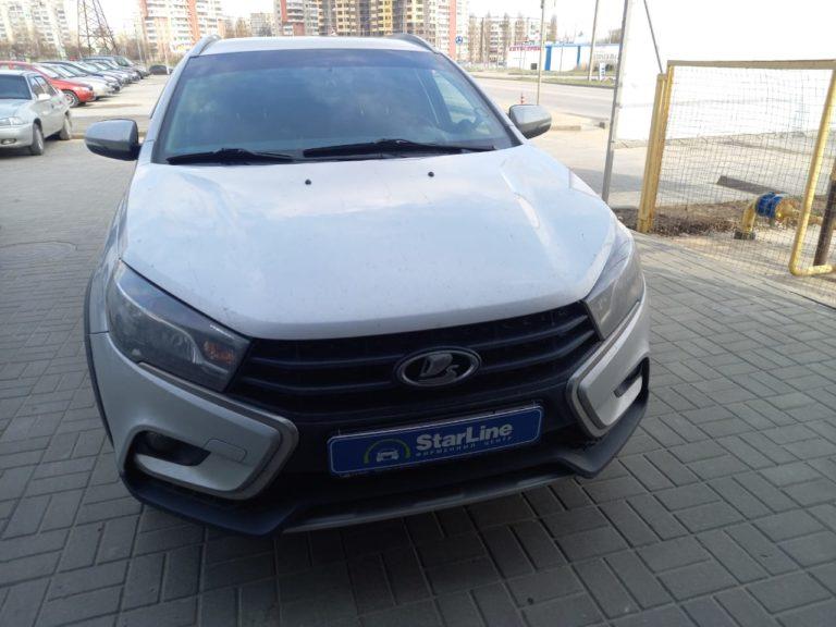 Lada Vesta 2019 Установка штатной магнитолы