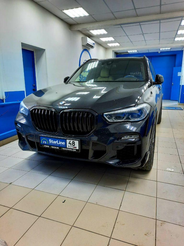 BMW X5 2020 Установка фаркопа