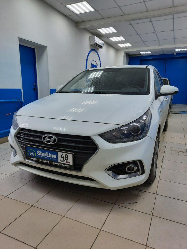 Hyundai Solaris 2018 Шумоизоляция дверей