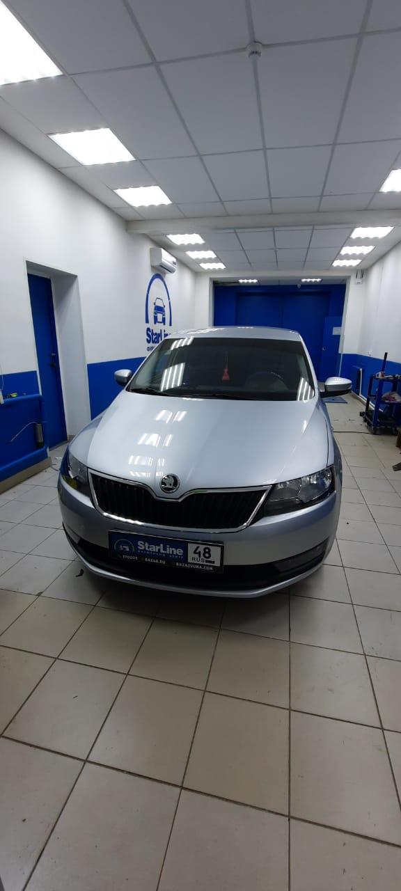 Škoda Rapid 2019 Шумоизоляция дверей