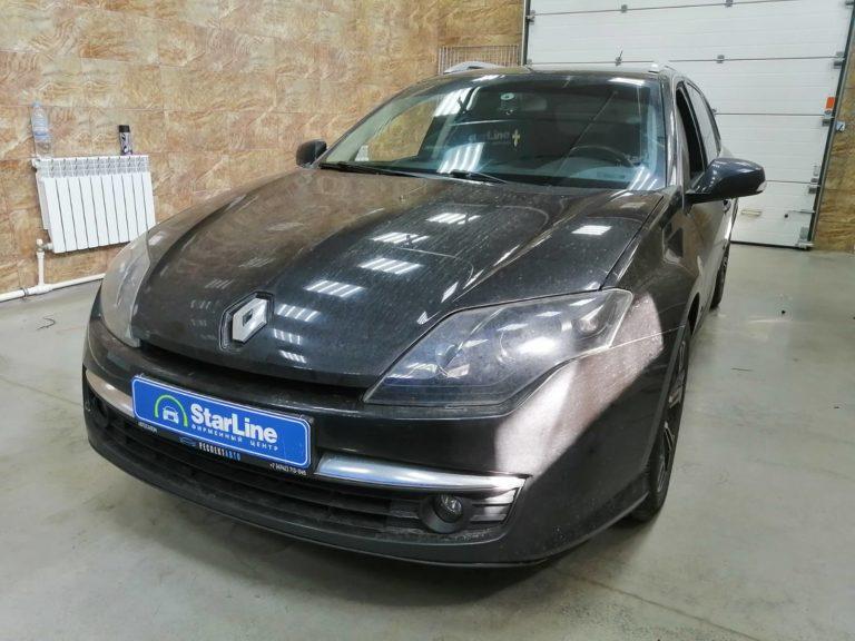 Renault Laguna 2008 Штатная магнитола+камера