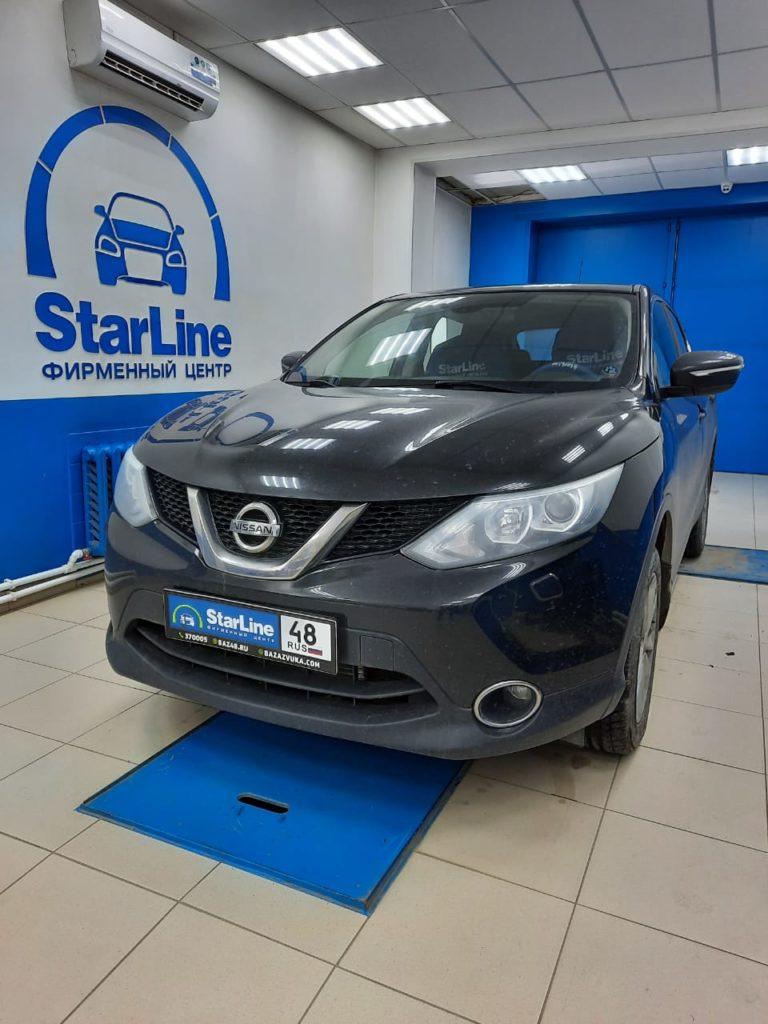 Nissan Qashqai Установка штатной магнитолы