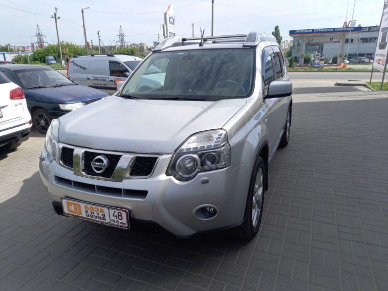 Nissan X-Trail Установка магнитолы