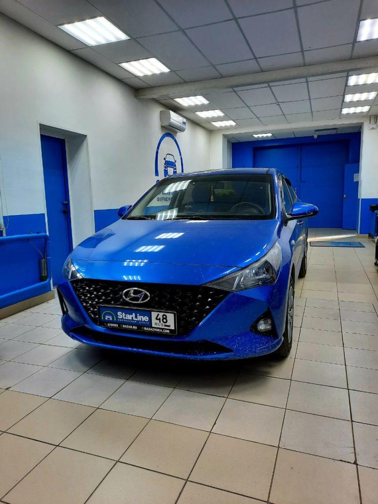Hyundai Solaris 2021г Шумоизоляция багажник и арки