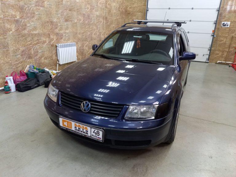 Volkswagen Passat B5 Установка фаркопа