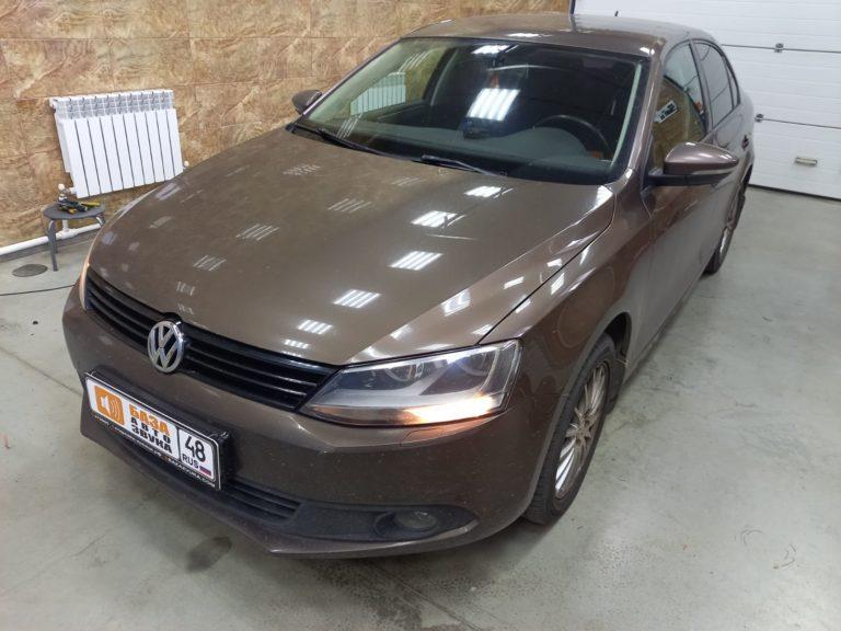 Volkswagen Jetta 2013 Установка штатной магнитолы