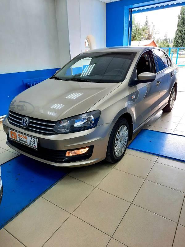 Volkswagen Polo 2016 Установка штатной магнитолы