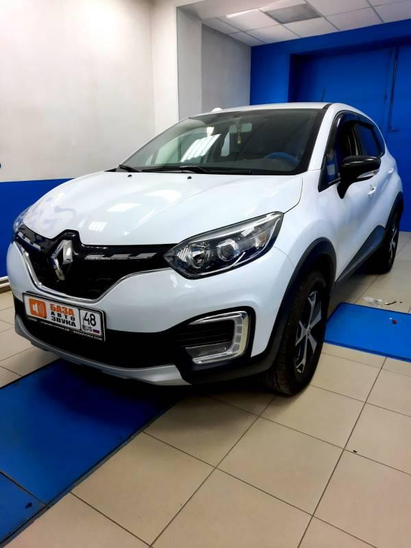 Renault Kaptur 2021 Установка штатной магнитолы + камера заднего вида